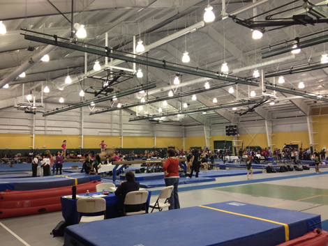 top flight gymnastics meet kyle